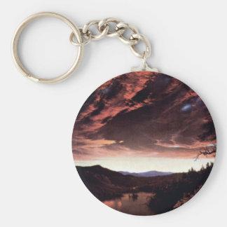 Frederic Edwin Church - Twilight in the Wilderness Key Chain