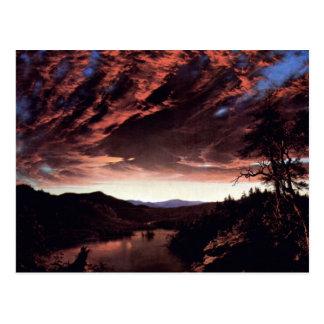 Frederic Edwin Church - Twilight in the Wilderness Postcard