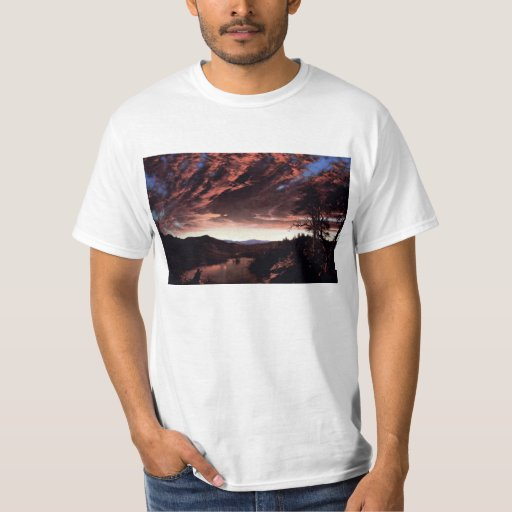 Frederic Edwin Church - Twilight in the Wilderness T-Shirt
