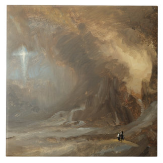 Frederic Edwin Church - Vision of the Cross Ceramic Tile