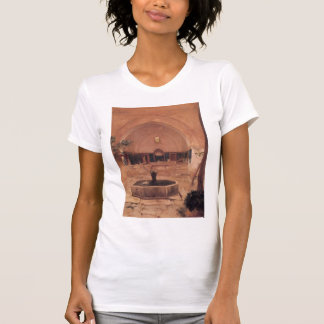 Frederic Leighton-Courtyard of a Mosque at Broussa Tshirt