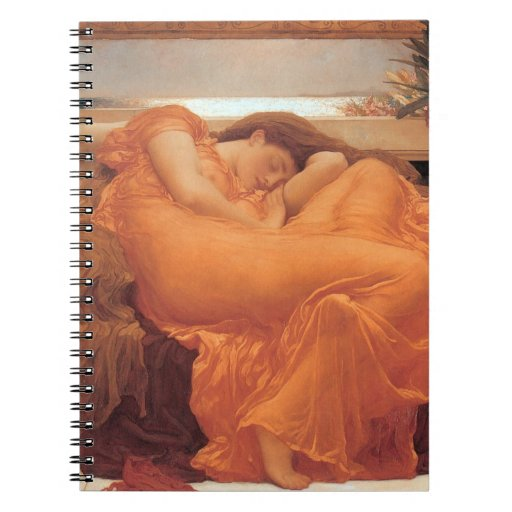 Frederic Leighton Flaming June Notebooks