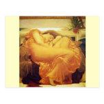 "Frederic Leighton, ""Flaming June"" Postcard"