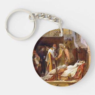 Frederic Leighton-Reconciliation of Montagues Single-Sided Round Acrylic Keychain