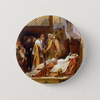 Frederic Leighton-Reconciliation of Montagues Pinback Button