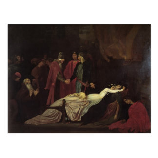 Frederic Leighton-Reconciliation of Montagues Postcard