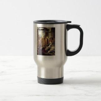 Frederic Leighton- The Death of Brunelleschi 15 Oz Stainless Steel Travel Mug