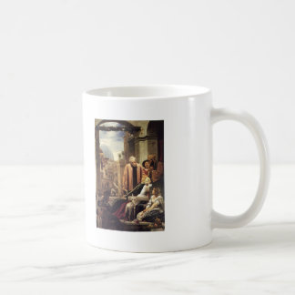 Frederic Leighton- The Death of Brunelleschi Classic White Coffee Mug