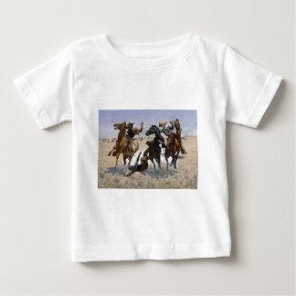Frederic Remington - Aiding a Comrade Baby T-Shirt