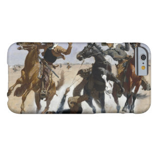 Frederic Remington - Aiding a Comrade Barely There iPhone 6 Case