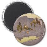 Frederic Remington Art 2 Inch Round Magnet