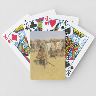 Frederic Remington Art Bicycle Playing Cards
