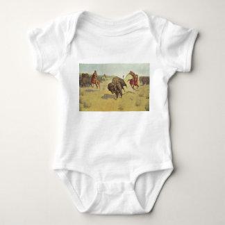 Frederic Remington Art Infant Creeper