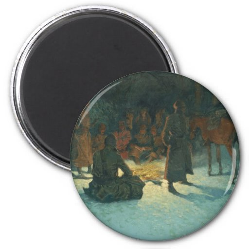 Frederic Remington Art Magnet