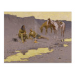 Frederic Remington Art Post Card