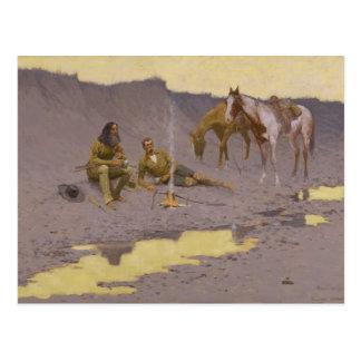 Frederic Remington Art Postcard