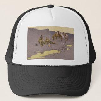 Frederic Remington Art Trucker Hat