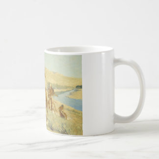 Frederic Remington - Episode of the Buffalo Gun Coffee Mug