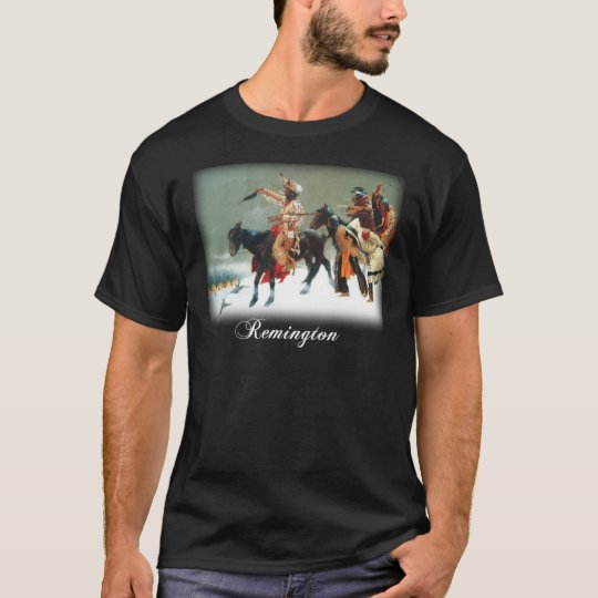Frederic Remington - Return of the War Party T-Shirt
