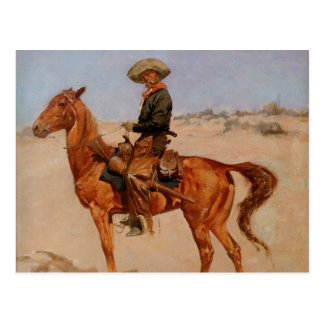 Frederic Remington s The Puncher 1895 Postcard