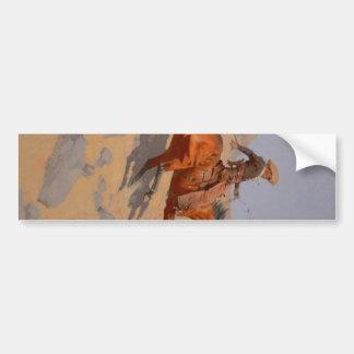 Frederic Remington - The Cowboy Bumper Sticker