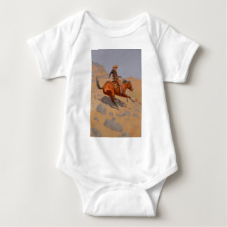 Frederic Remington - The Cowboy Infant Creeper