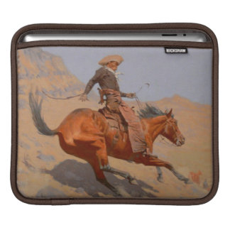 Frederic Remington - The Cowboy Sleeve For iPads