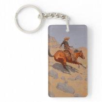 Frederic Remington - The Cowboy Keychain