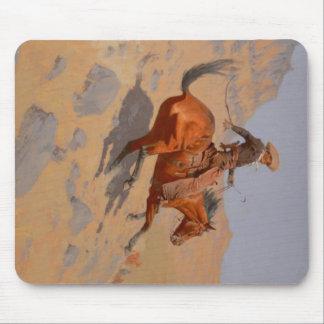 Frederic Remington - The Cowboy Mouse Pad