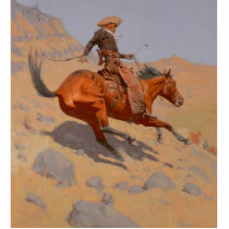 Frederic Remington - The Cowboy Statuette