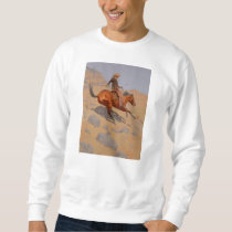 Frederic Remington - The Cowboy Sweatshirt