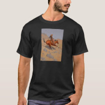 Frederic Remington - The Cowboy T-Shirt