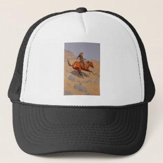 Frederic Remington - The Cowboy Trucker Hat