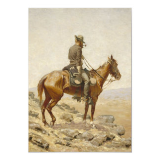 Frederic Remington - The Lookout Card