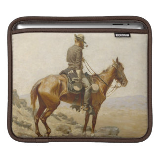 Frederic Remington - The Lookout Sleeves For iPads