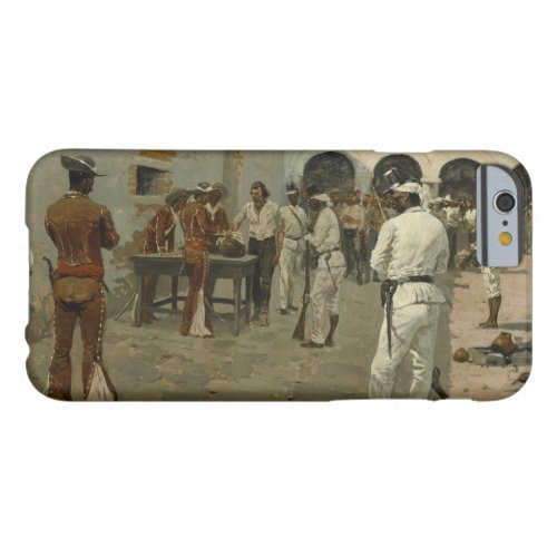 Frederic Remington - The Mier Expedition Phone Case