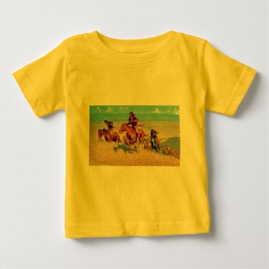Frederic Remington's The Buffalo Runners (1909) Baby T-Shirt