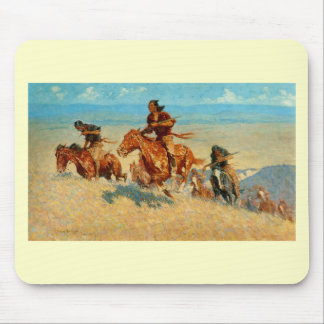 Frederic Remington's The Buffalo Runners (1909) Mouse Pad