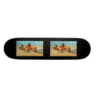 Frederic Remington's The Buffalo Runners (1909) Skate Board Decks