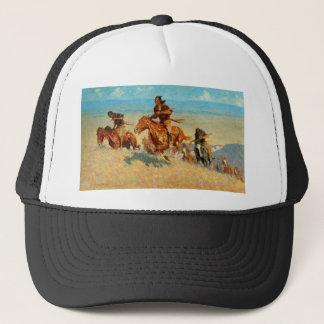 Frederic Remington's The Buffalo Runners (1909) Trucker Hat