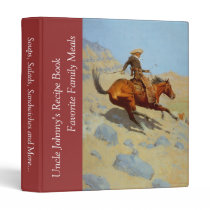 Frederic Remington's The Cowboy (1902) Binder