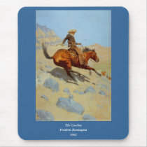 Frederic Remington's The Cowboy (1902) Mouse Pad
