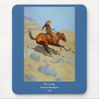 Frederic Remington's The Cowboy (1902) Mouse Pad