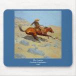 Frederic Remington's The Cowboy (1902) Mousepads