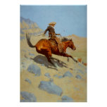 Frederic Remington's The Cowboy (1902) Posters