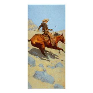 Frederic Remington's The Cowboy (1902) Rack Card