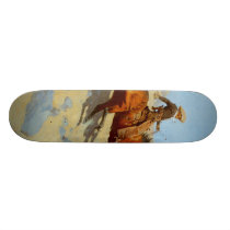 Frederic Remington's The Cowboy (1902) Skateboard