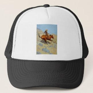 Frederic Remington's The Cowboy (1902) Trucker Hat