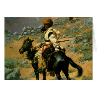 Frederic Remington's The Indian Trapper (1889) Card