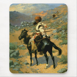 Frederic Remington's The Indian Trapper (1889) Mouse Pad
